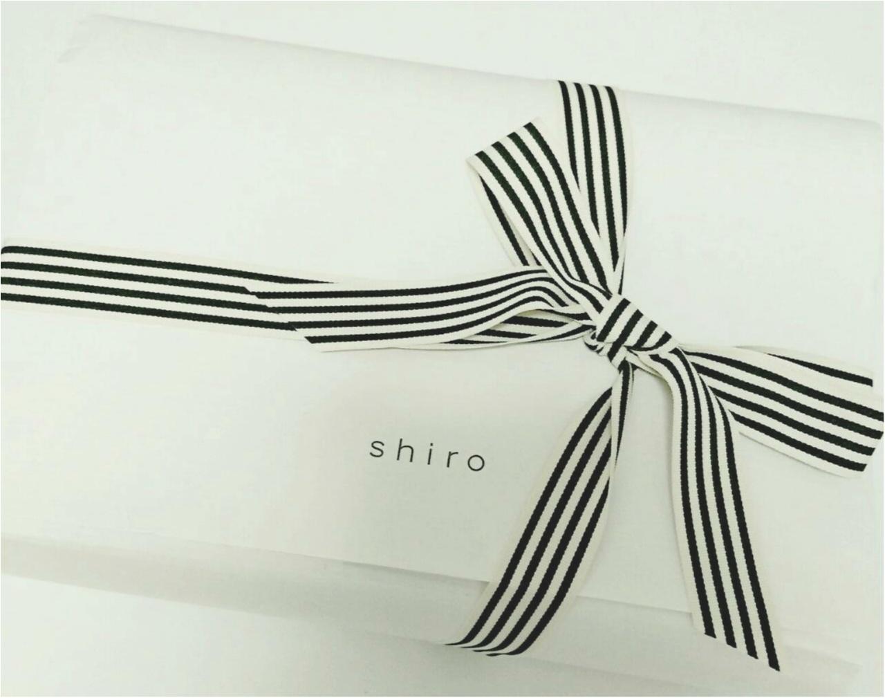 【shiro】シンプルなデザインに癒しの香り♡shiro(シロ)のホームケアアイテム使い始めました♡♡_3