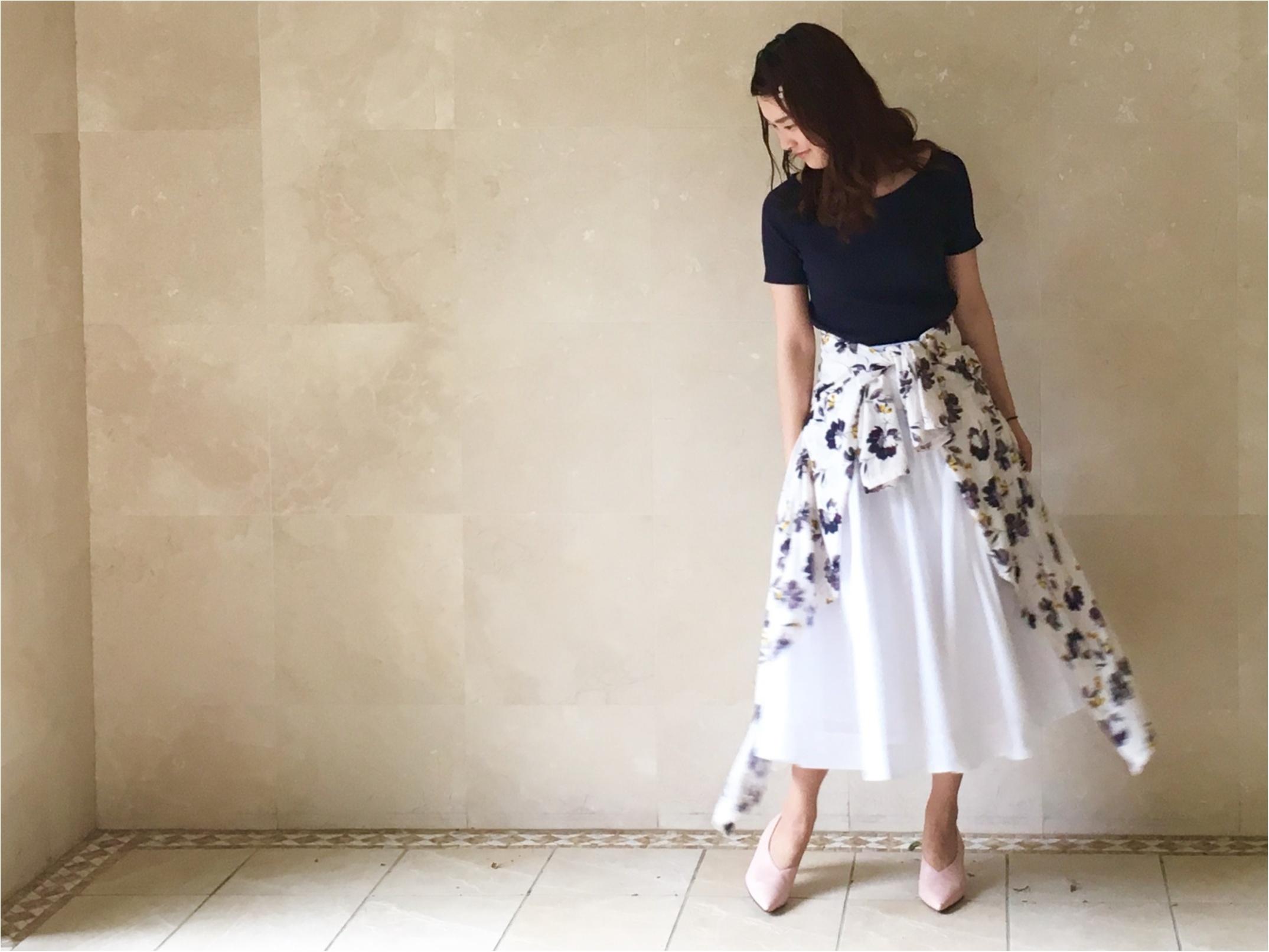 【UNIQLO】シワになりにくいからお手入れ楽チン❤️《美シルエットの優秀スカート》3選!_7