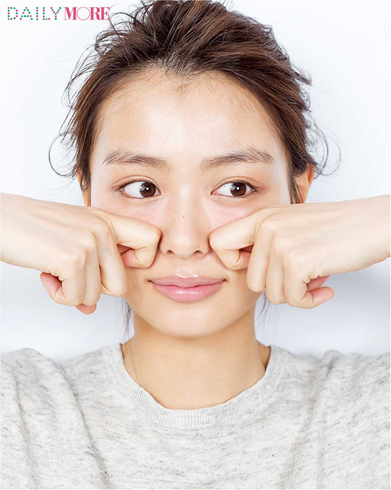 エラ張りの悩みを解消して小顔になれるテク - エラの張りがカバーできる前髪や眉メイク、セルフコルギ(マッサージ)など_16