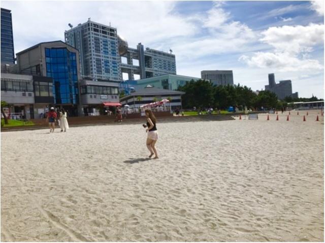都内で気軽に海が楽しめる!?夏休みは【#おだいばビーチ】へレッツゴー♪_5