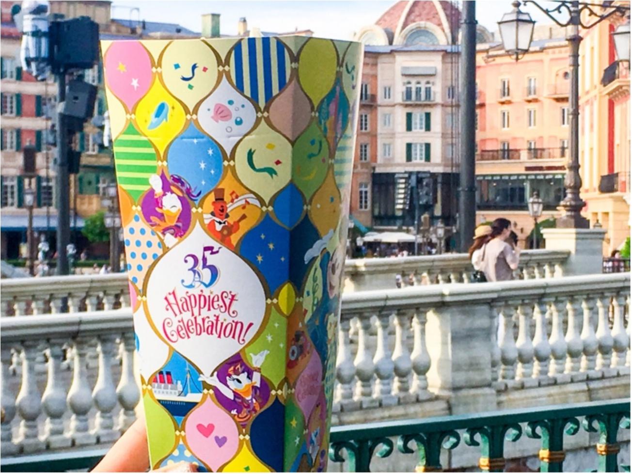 ディズニー,ディズニーランド,ポップコーン,ミッキー,Happiest Celebration,35周年