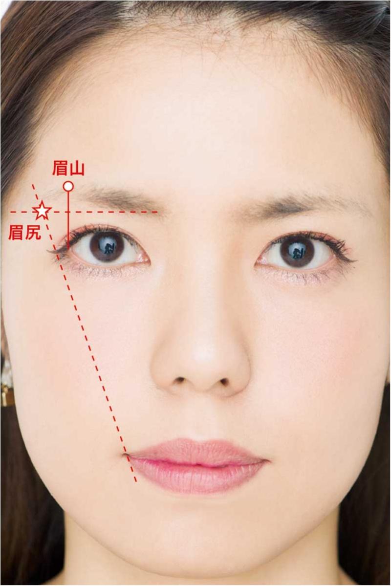 眉毛特集 - 世界一正しい眉の描き方 | アイブロウの描き方、メイクのプロセスやテクニックまとめ_40