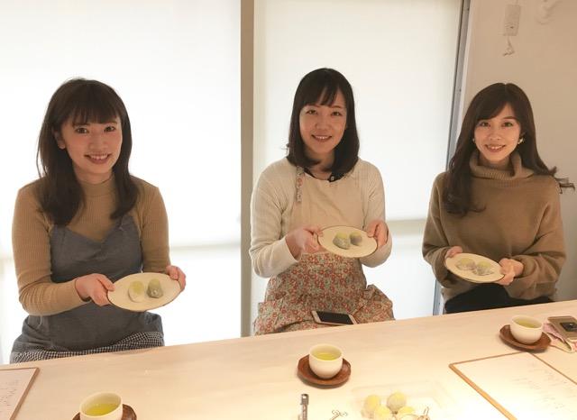 《今年のバレンタインに手作り和菓子はいかが?》あんこラボさんで和菓子作り体験♡_6