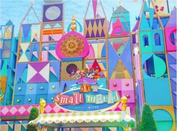 【 しの散策 】東京ディズニーリゾート 35周年 ★ リニューアルした《 イッツ・ア・スモールワールド 》が 可愛いすぎる ♪