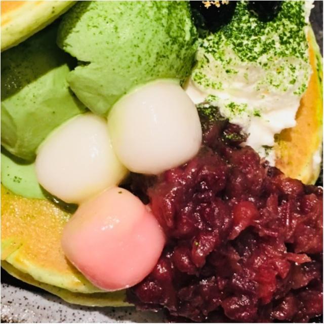 【ご当地モア】<抹茶マニア>大阪の有名なパンケーキ屋さん≪mog≫が、京都のカフェ≪通圓≫とコラボ!塩生クリームの抹茶パンケーキがめちゃ美味しい♡_4