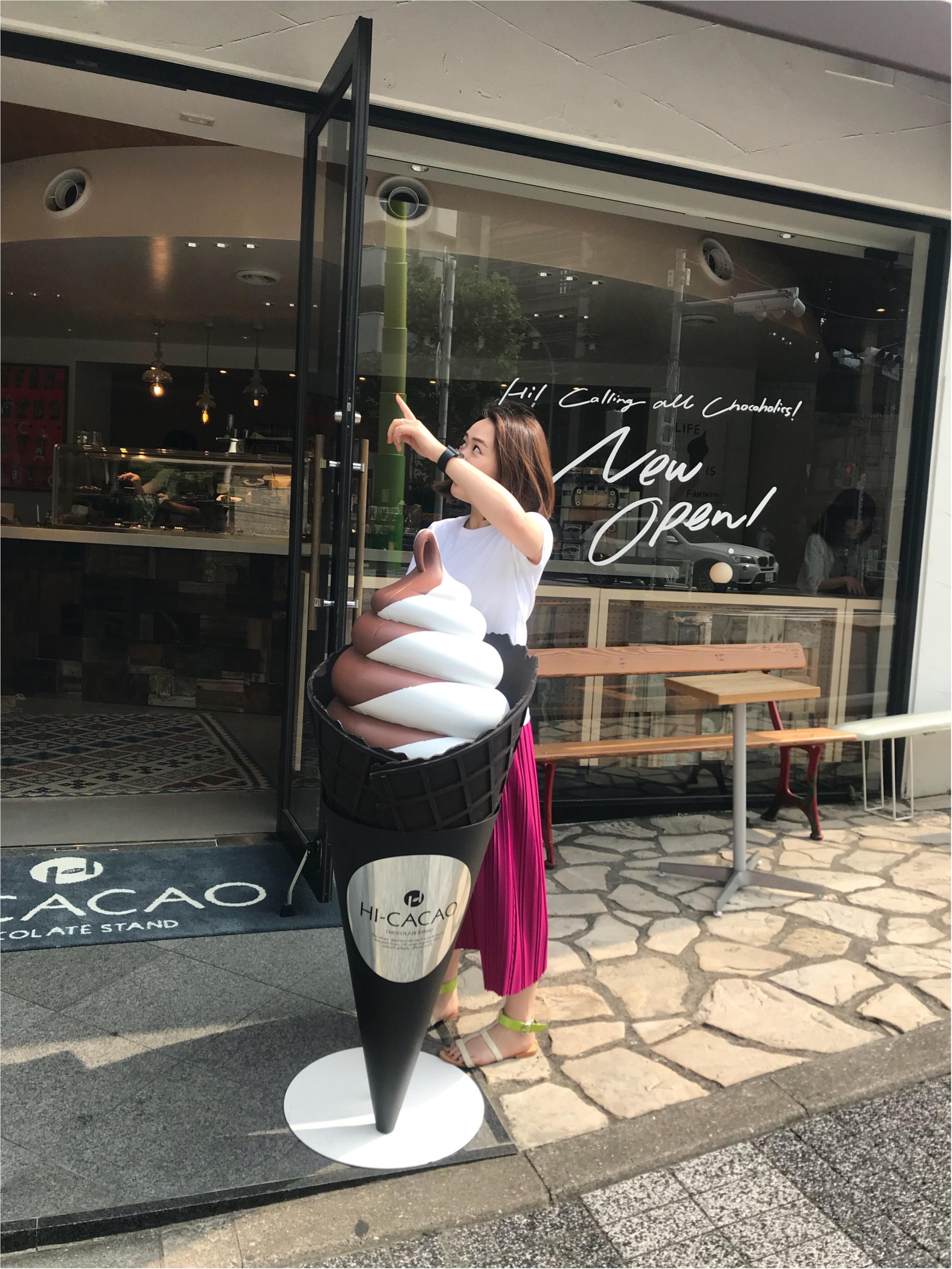 【ご当地MORE♡東京】チョコ好きさん必見!フォンダンショコラ史上No. 1といっても過言ではない美味しさ♡♡HI- CACAOに行ってみて!_5
