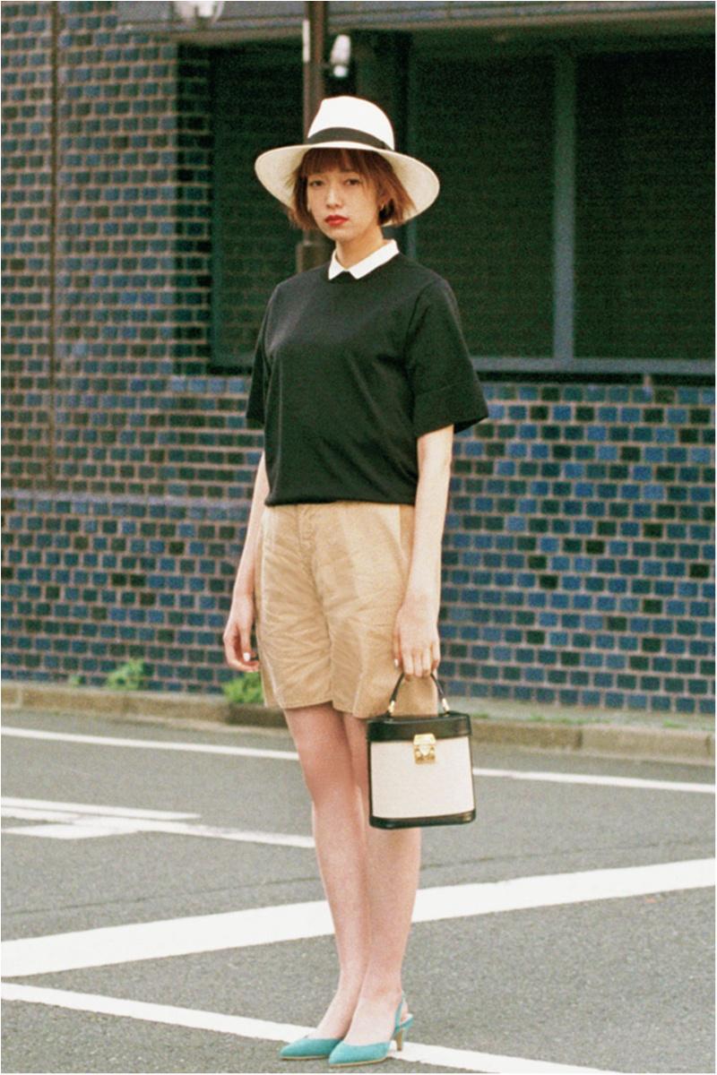 日焼け防止のマストアイテム 【帽子】の今どきコーデ15選   ファッションコーデ_1_11