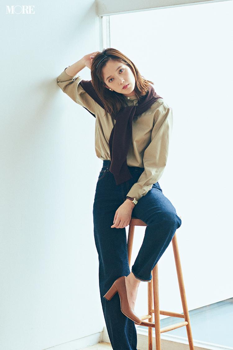 秋コーデ特集《2019年版》- トレンドのブラウンや人気のワンピース・スカートでつくる、20代におすすめのレディースコーデ_8