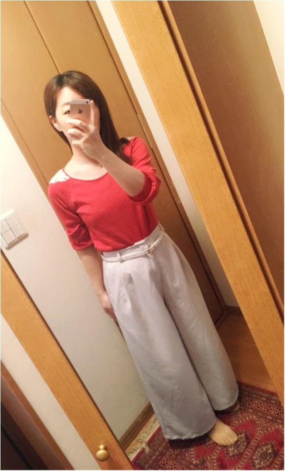 なりたい私に着替えよう【赤】を取り入れたオフィスコーデに挑戦!_4