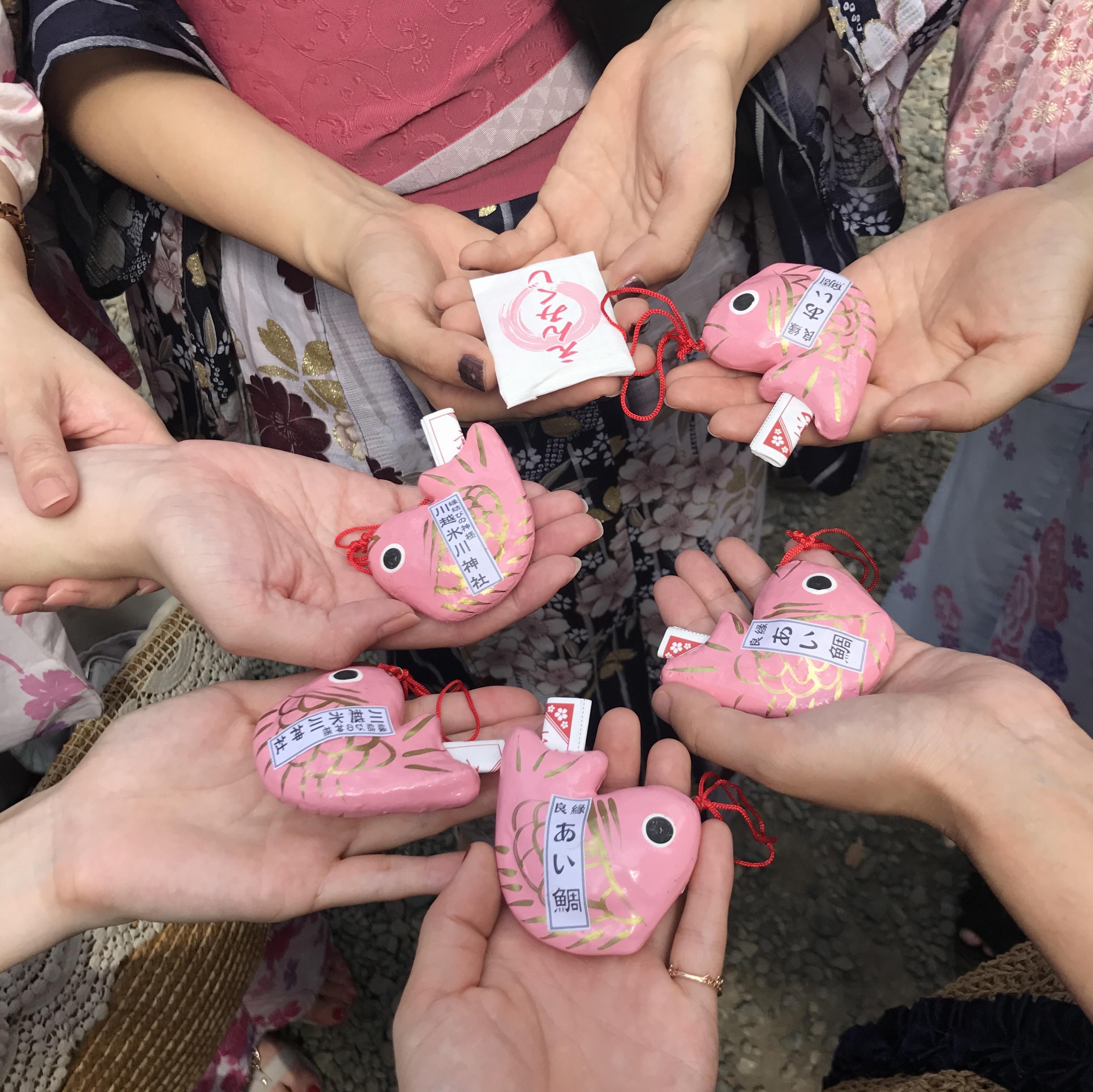 【川越氷川神社】のおみくじは「引く」のではなく◯◯んですっ♡_4