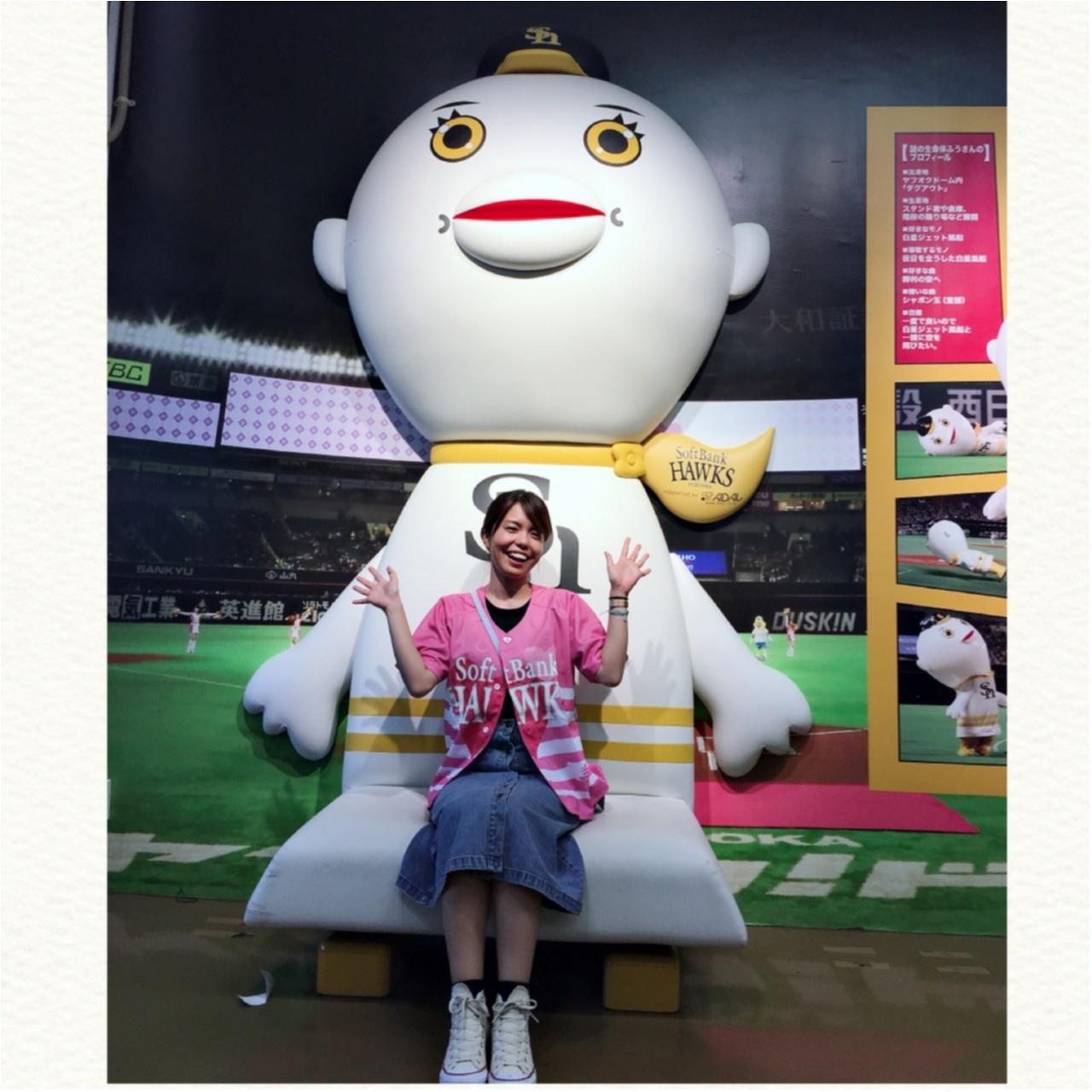 福岡ソフトバンクホークス ヤフオクドーム 野球 フォトスポット