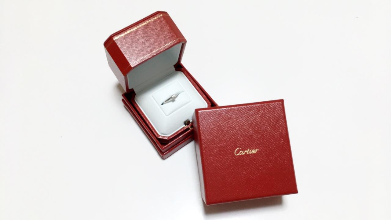 《Cartier カルティエ》エンゲージリングとマリッジリング♡_1