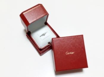 《Cartier カルティエ》エンゲージリングとマリッジリング♡
