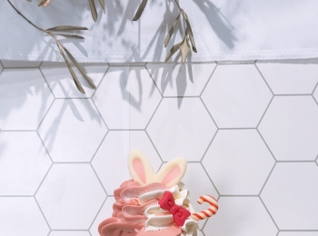 インスタ映えなソフトクリーム♡