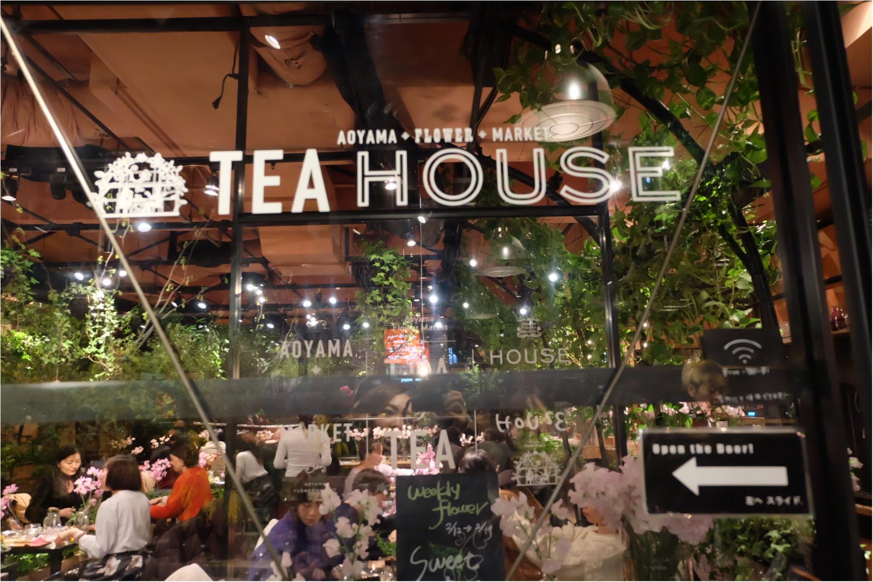 【ご当地MORE♡東京】AOYAMA FLOWER MARKET TEA HOUSEでお花に囲まれて女子会ができちゃう贅沢スポット♡_2