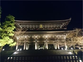 ≪京都・知恩院≫2年ぶり特別公開&ライトアップされた三門は圧巻☆