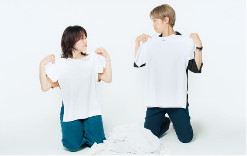 「なで肩&二の腕太め」さん・「大胸&骨太」さんに似合う白Tシャツはどれ? スタイリストが全部試しました☆_2_4