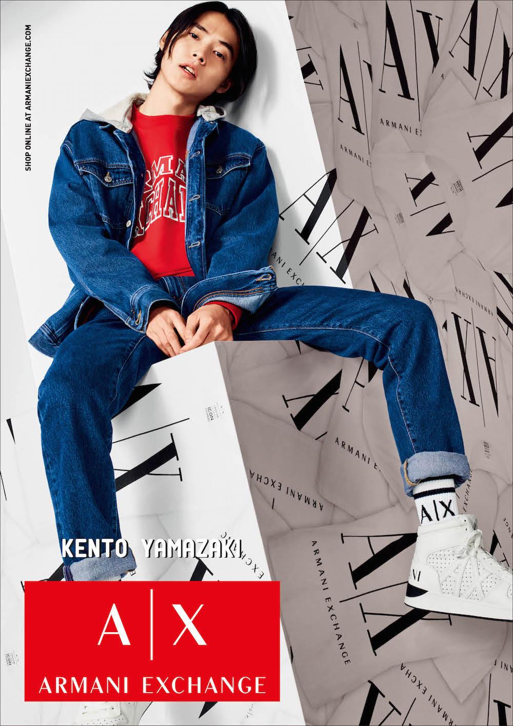 【速報】山﨑賢人さんが『アルマーニ エクスチェンジ』の広告モデルに!キャンペーンビジュアル全部見せます♡_3