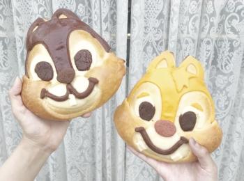 【チップとデールパン】こんなに可愛いパンが買えちゃう!チックタック・ダイナーって?