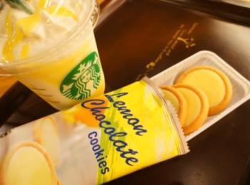 《レジ横foodに注目❤️》【スタバ】レモンチョコレートクッキーが美味しい☻!