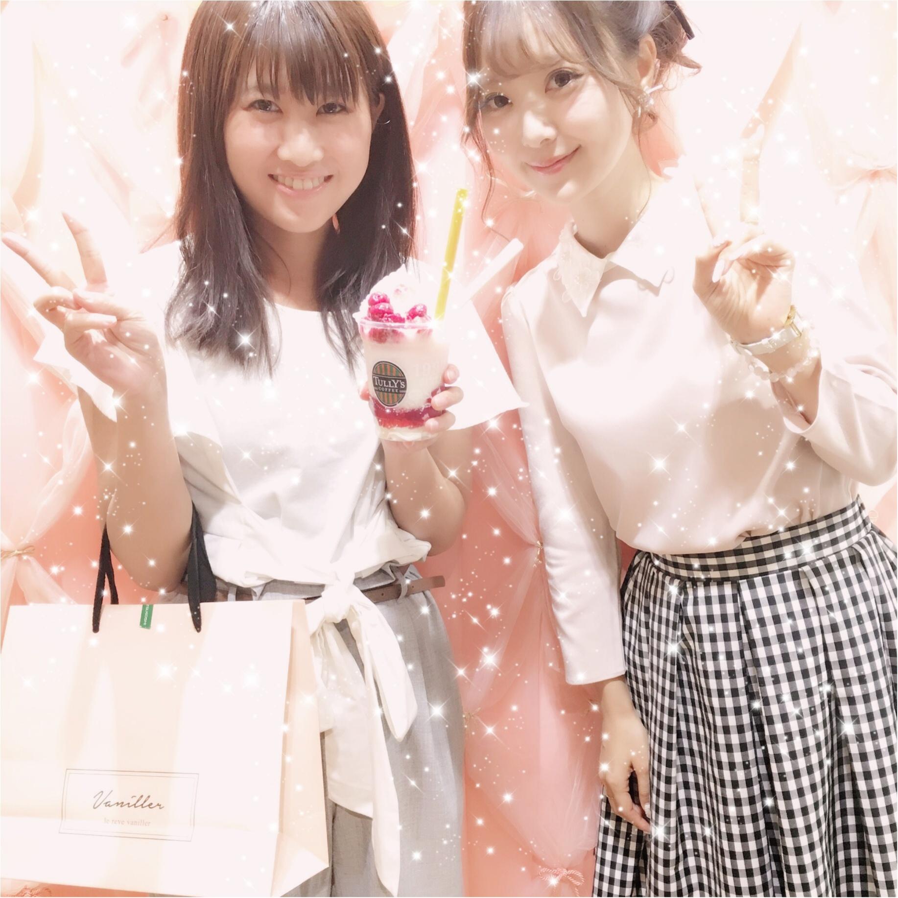 【8/21まで!】中田絵里奈さんプロデュース《le reve vaniller》 POPUP SHOP♡♡_2