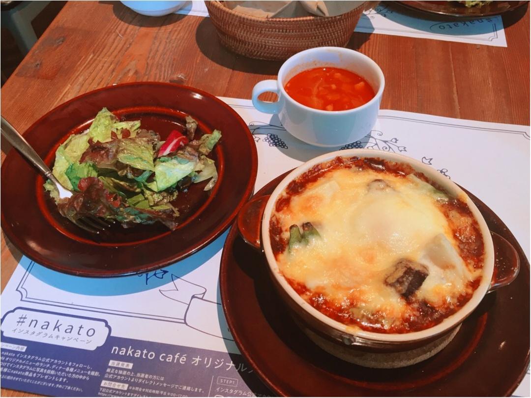 【外苑前】1ヶ月の期間限定カフェ「nakato café」の1日25食限定ビーフシチュードリア♡_1