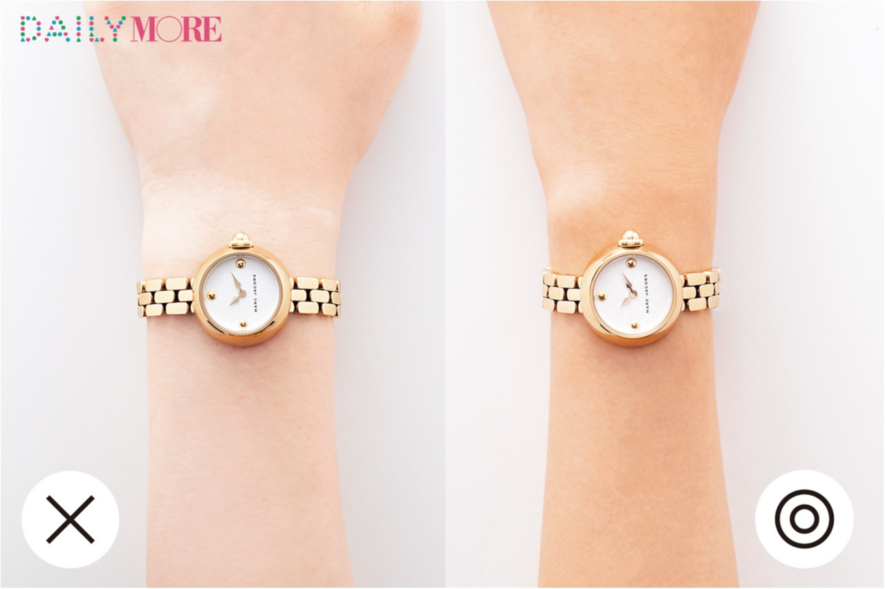 【イエローゴールドの時計】リッチな輝きでエレガントな印象
