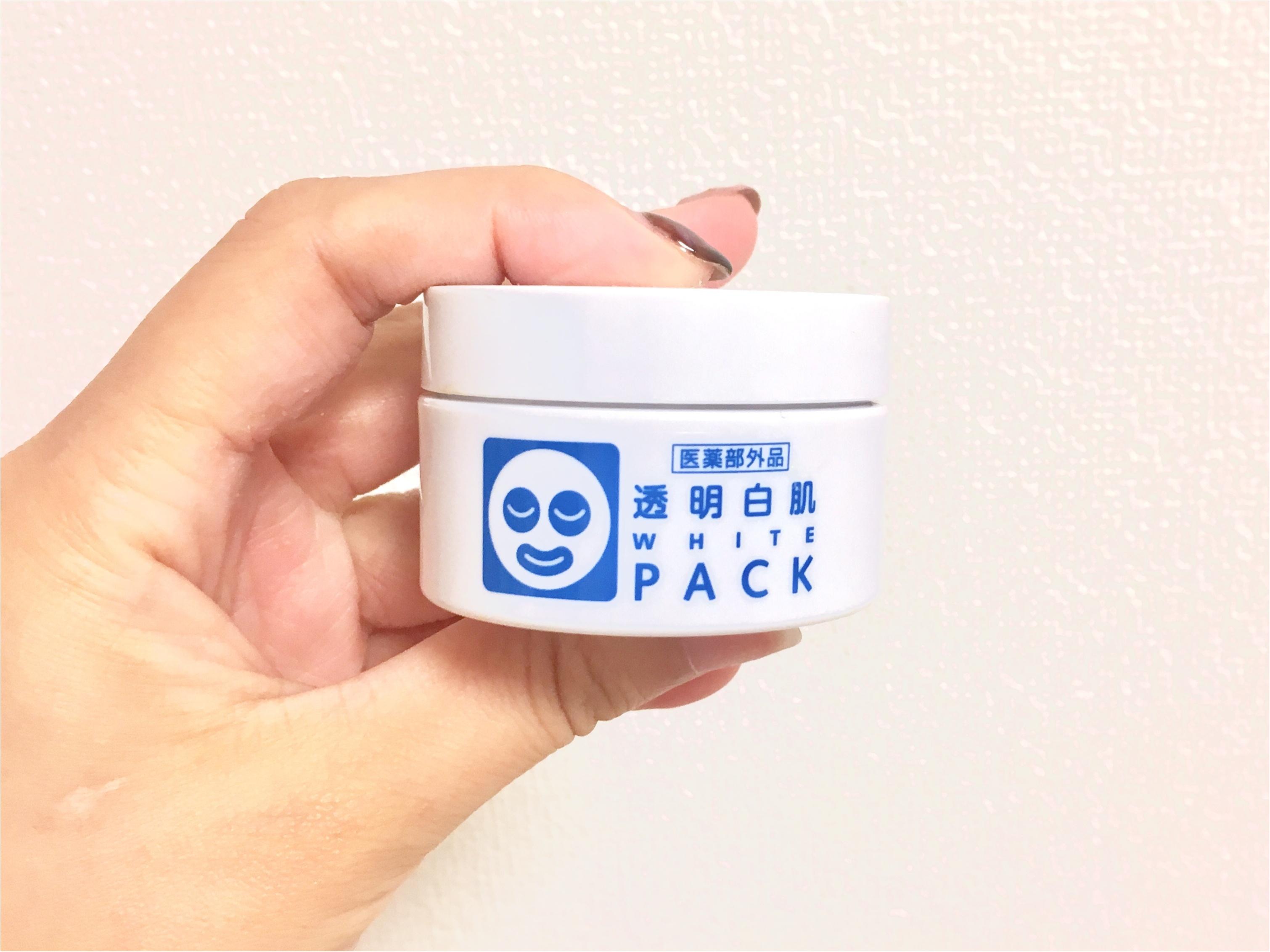【今週のパックvol.5】石澤研究所『透明白肌PACK』_1