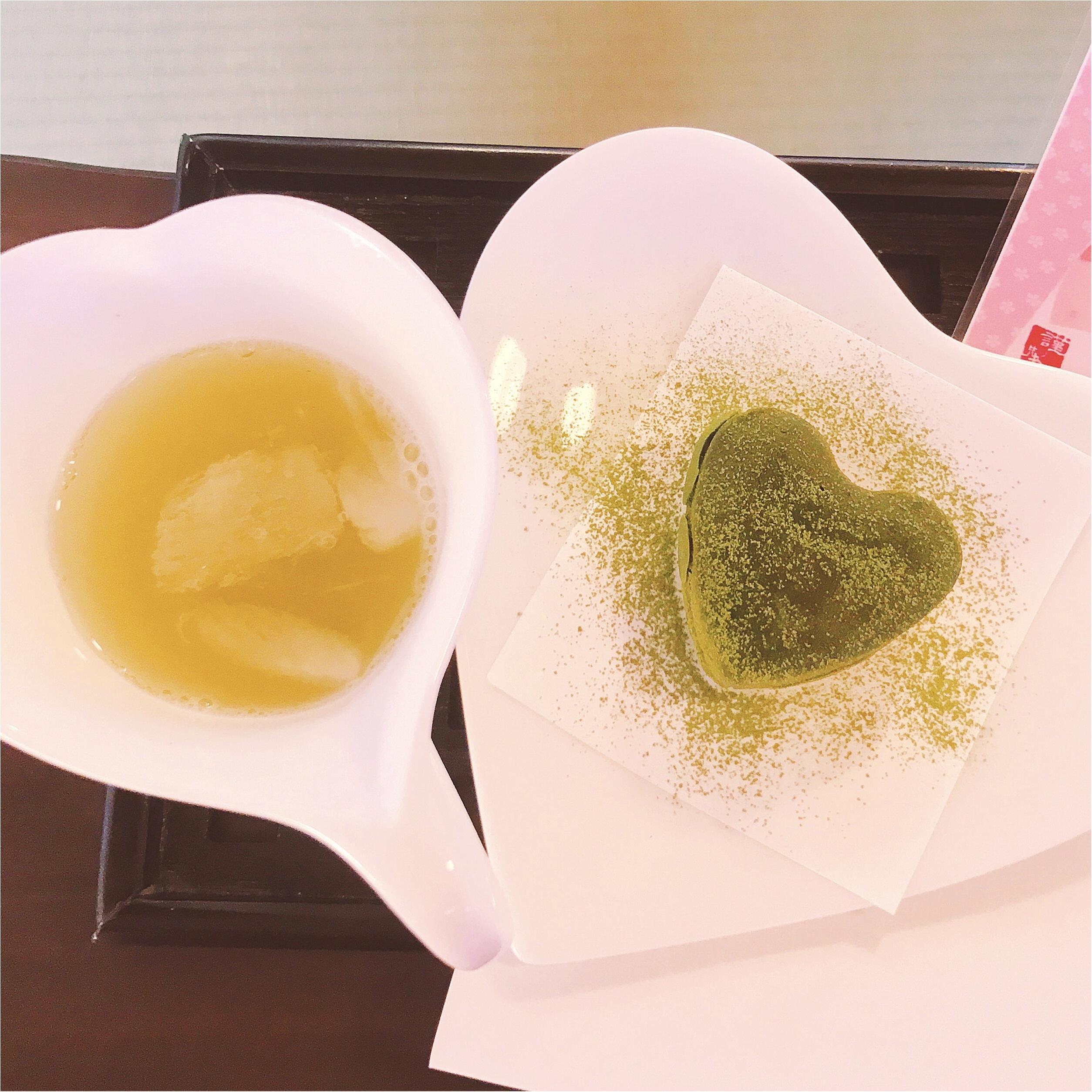 《川越グルメ》ハートがかわいい♡抹茶好き必見の「縁むすび」スイーツって?_5