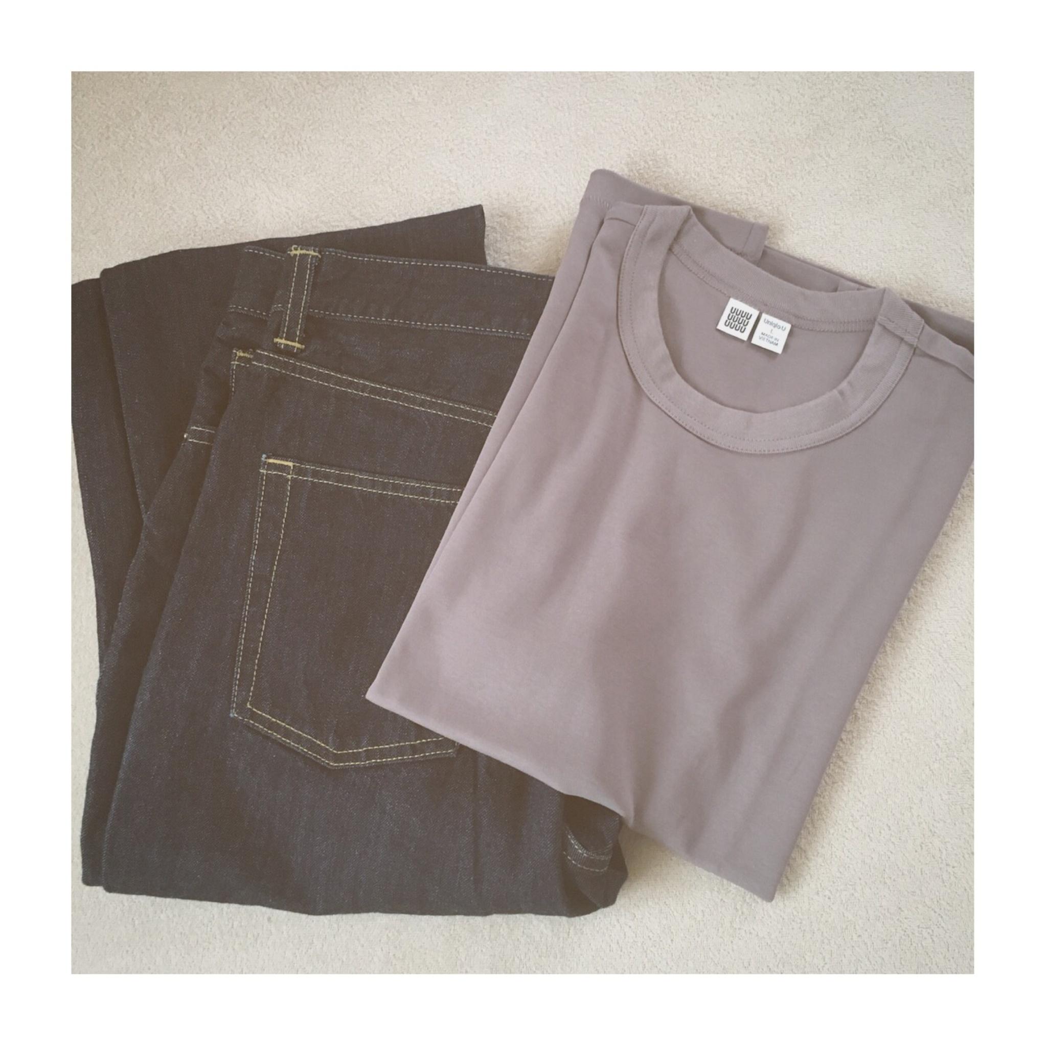 《まだまだ使える!》【Uniqlo U】の大人気¥1,000Tシャツ、いま買い足すなら秋カラーがおすすめ❤️_2