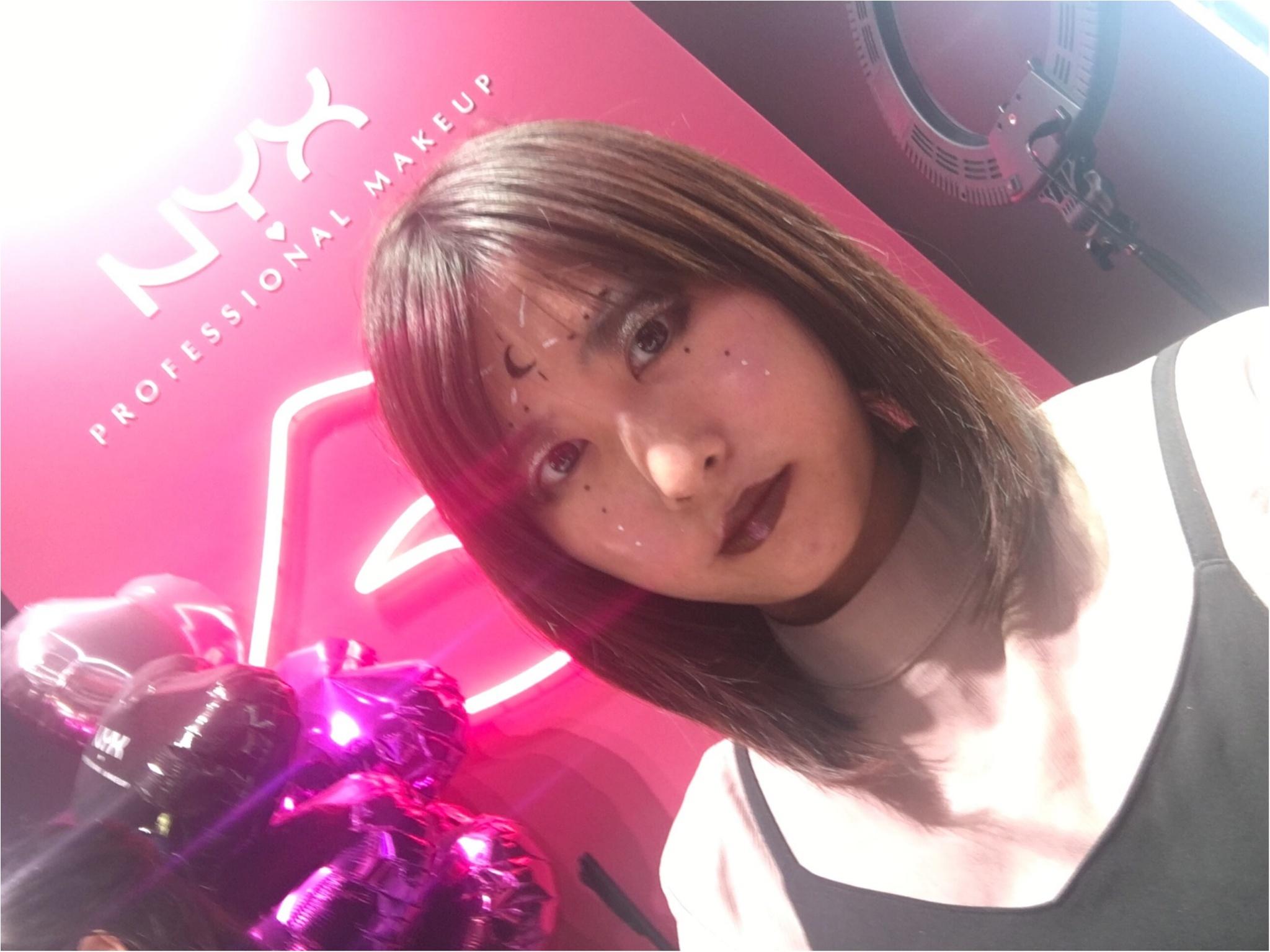 【NYX(ニックス)】LA発コスメブランドでハロウィンメイクを体験!!_8