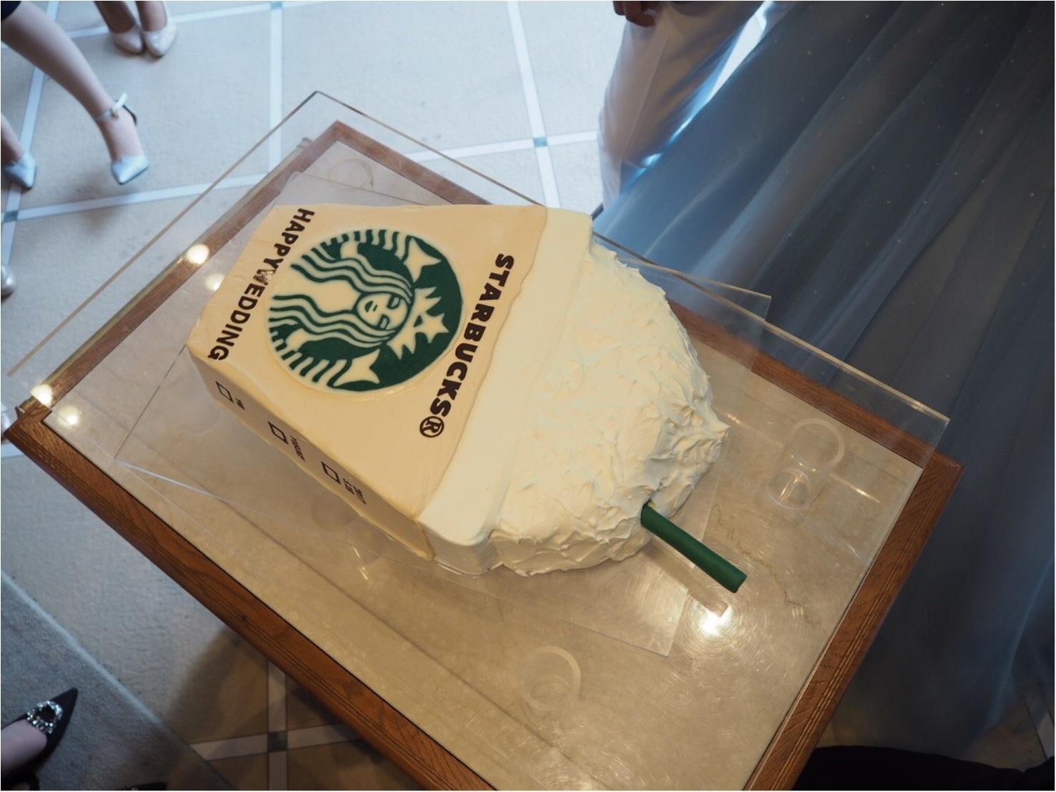 【ゆい婚】好きなものを詰め込んだ結婚式!ケーキはもちろん、、♡_4