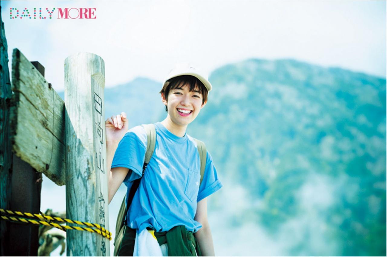 山に登るのって最高です♡ 佐藤栞里が『夏山ハイキング in 日向山!』にGO!【栞里のちょっと行ってみ!?】_2