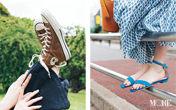 「ぺたんこ靴でお出かけ」が断然おしゃれ♡ レジャーも街ブラも飲み会も!_1
