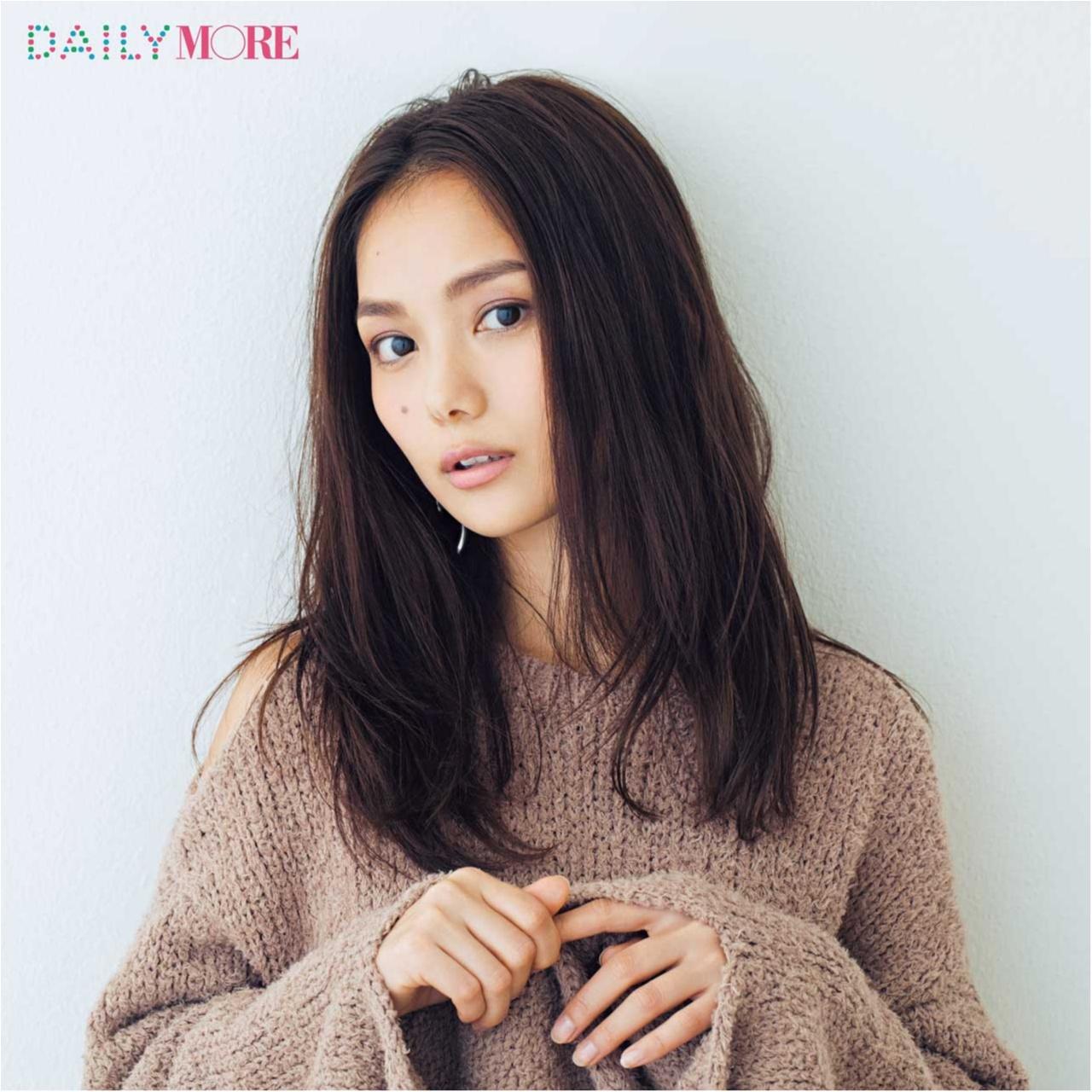 武智志穂ちゃんは、「ケイト」のモーブピンクで女っぽ3割増しフェイスに♪ モアビューティズの『ご指名新作パレット』で春顔シフト♡_1