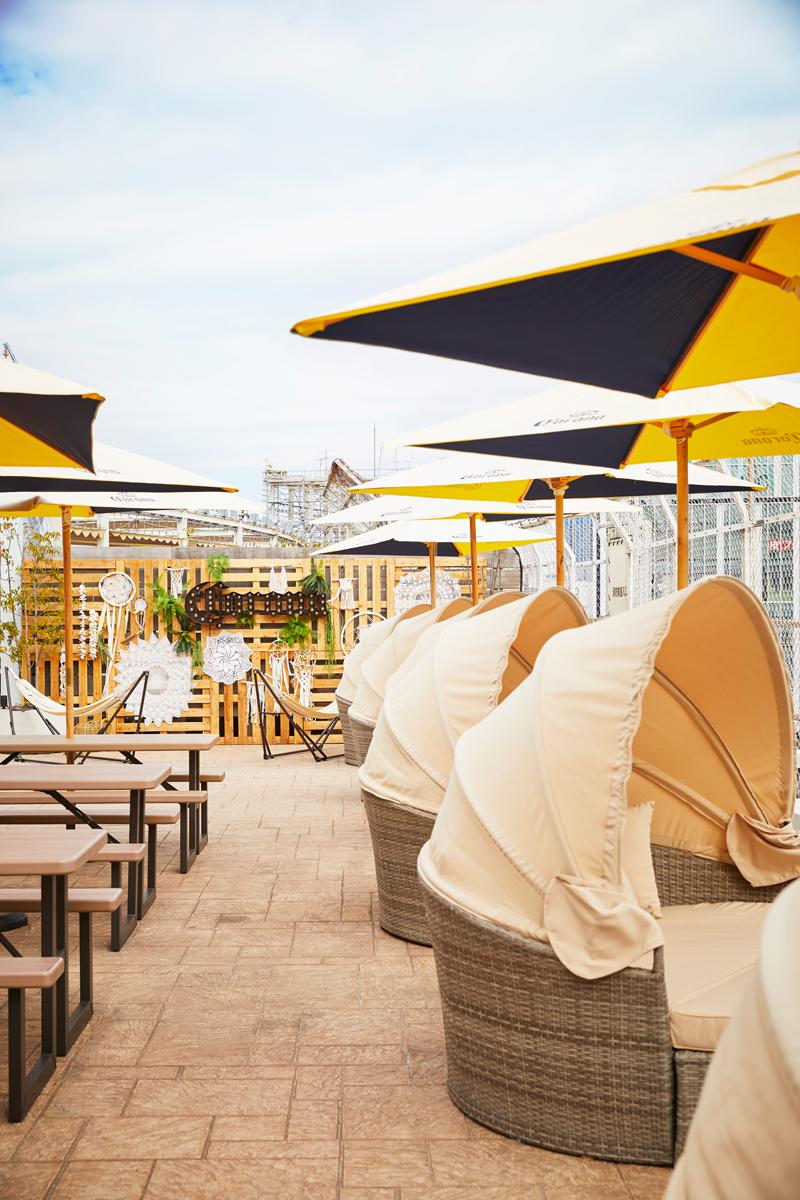 「ルミネエスト新宿」の屋上『ワイルドビーチ 新宿』は、カフェ利用もできるって知ってた?【#ビアガーデン 2019 東京】_2