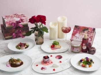 『SABON』が贈る、ローズ香るピンクのディナー(しかも特典つき♡)!! 今度のデートや女子会は『ザ ストリングス 表参道』で