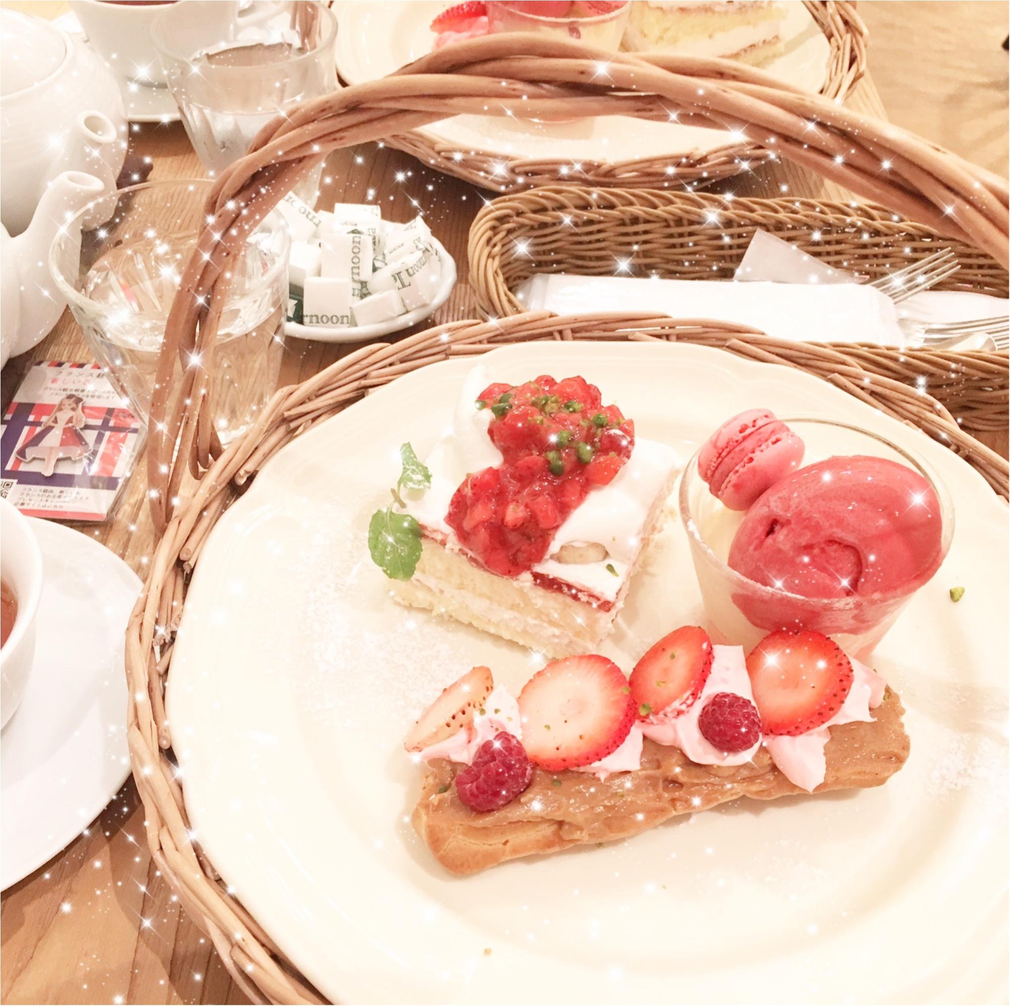 LOVE FRENCHY‼︎Afternoon Tea TEAROOM(アフタヌーンティーティールーム)の秋限定メニュー♡♡_4
