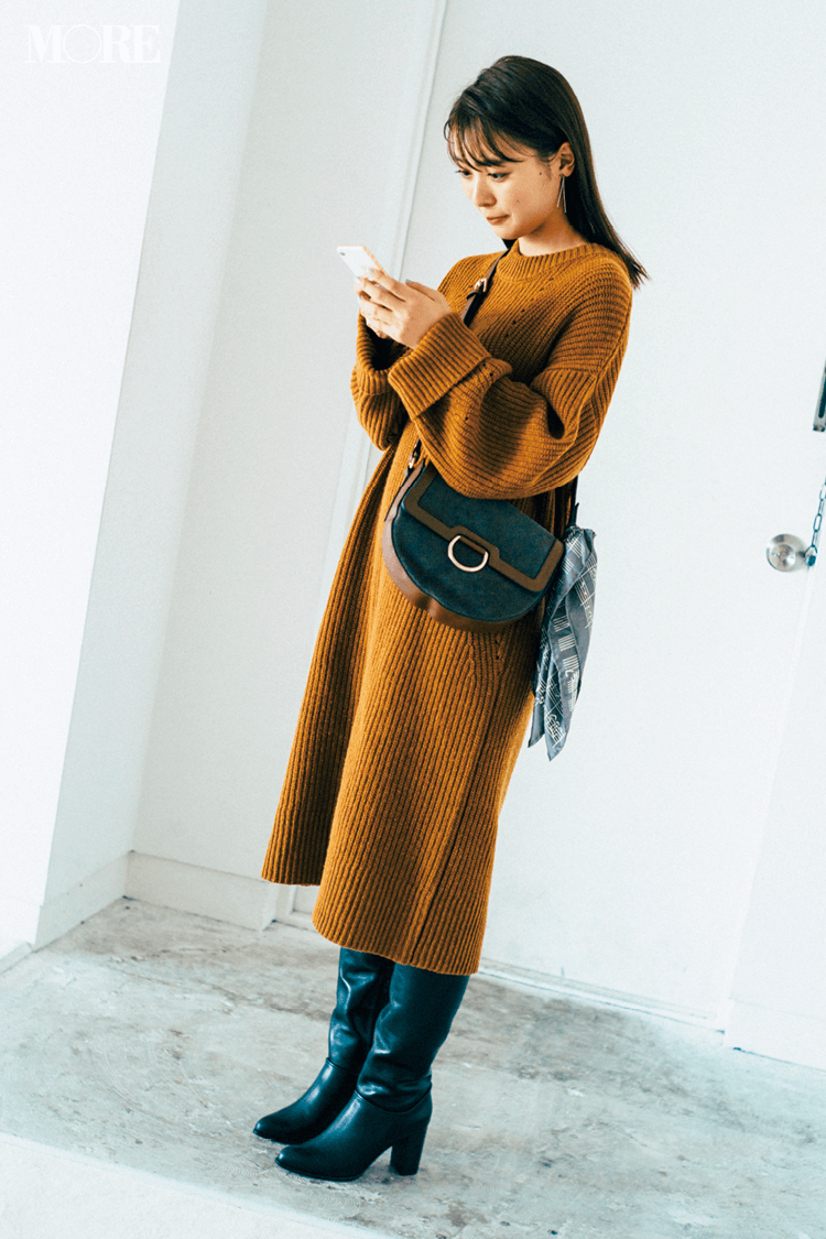 2018年秋のファッション ニット29