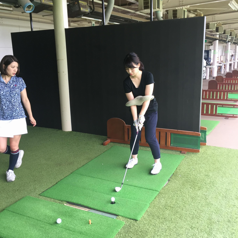 『エースゴルフクラブ』さんで初めてのゴルフレッスン!【#モアチャレ ゴルフチャレンジ】_4_1