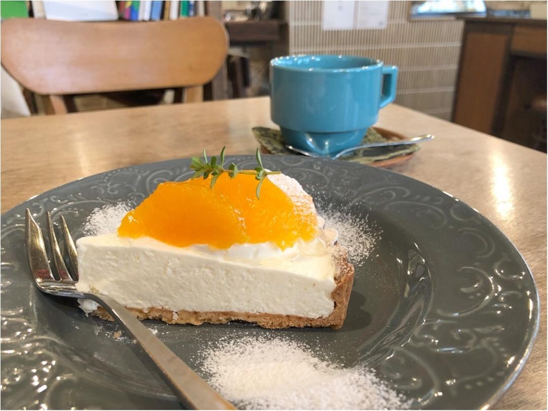 広島で行きたいカフェ♡ 美味しい洋菓子とかわいい雑貨のお店 《 ケツァール 》さんの爽やかオレンジタルト♡♡_8