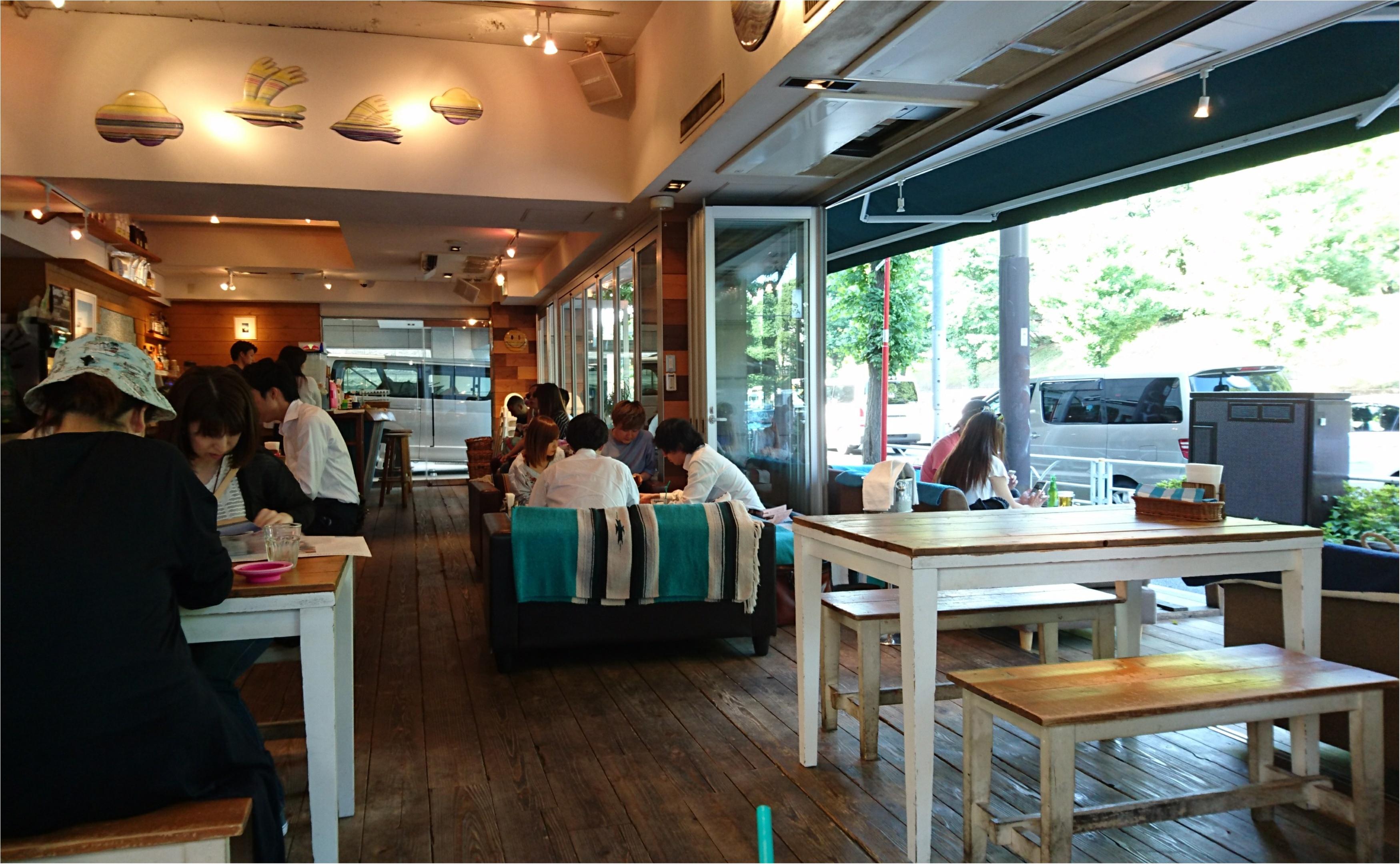 【カフェ】ビーチカフェで南国気分ヽ(´▽`)/_2