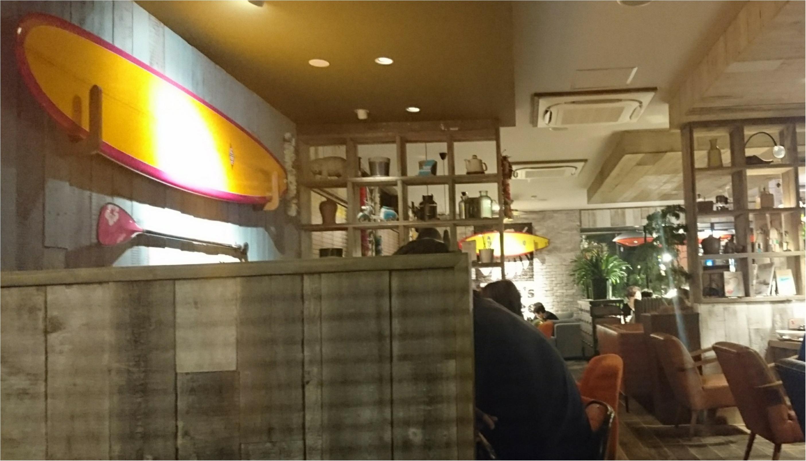 【カフェ】ハワイ感たっぷりのKona's Coffee_2