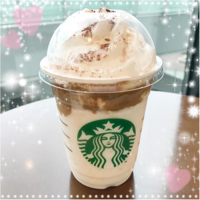 NEWフレーバー❤︎新発売!【チョコレートケーキトップフラペチーノwithコーヒーショット】_1