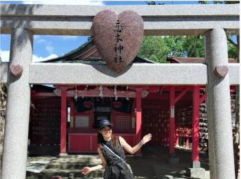 """福岡のラブパワースポットといえばココ!ハートいっぱいの""""恋木神社""""にいってきました♡"""