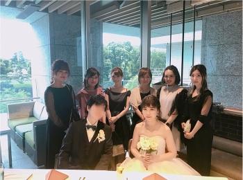 【Happy wedding❤︎】モアハピ部同期の結婚式にみんなで参加してきました!!挙式から二次会まで写真たっぷりでレポートします♡