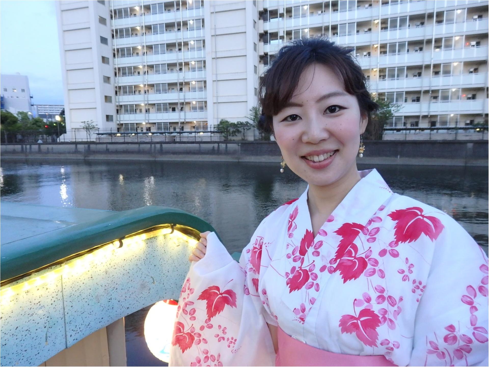 ゆかた屋形船女子会♡MORE8月号掲載『トレンドプレゼン大会』裏側レポ♡_3