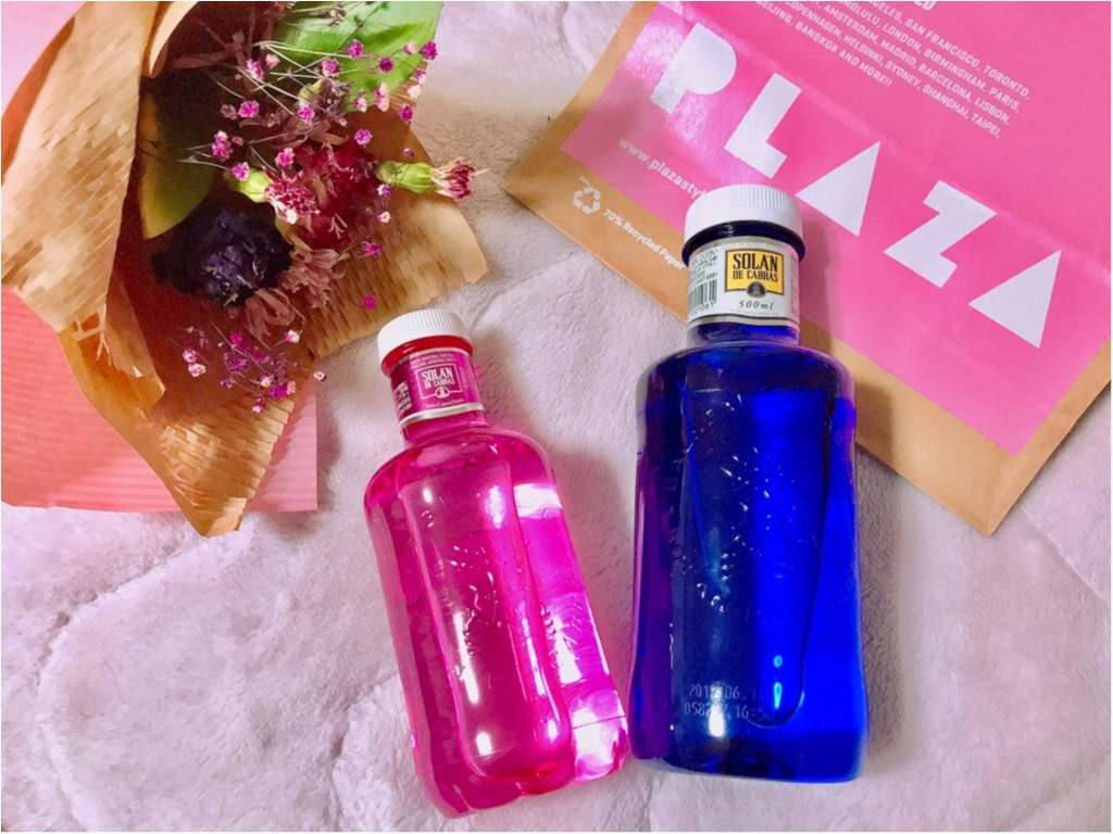 【PLAZA】ピンクのミネラルウォーター!?ピンクリボン運動支援限定《ピンクボトル》が美味しい&実用的★made in スペインの本格ウォーター♡♡_4