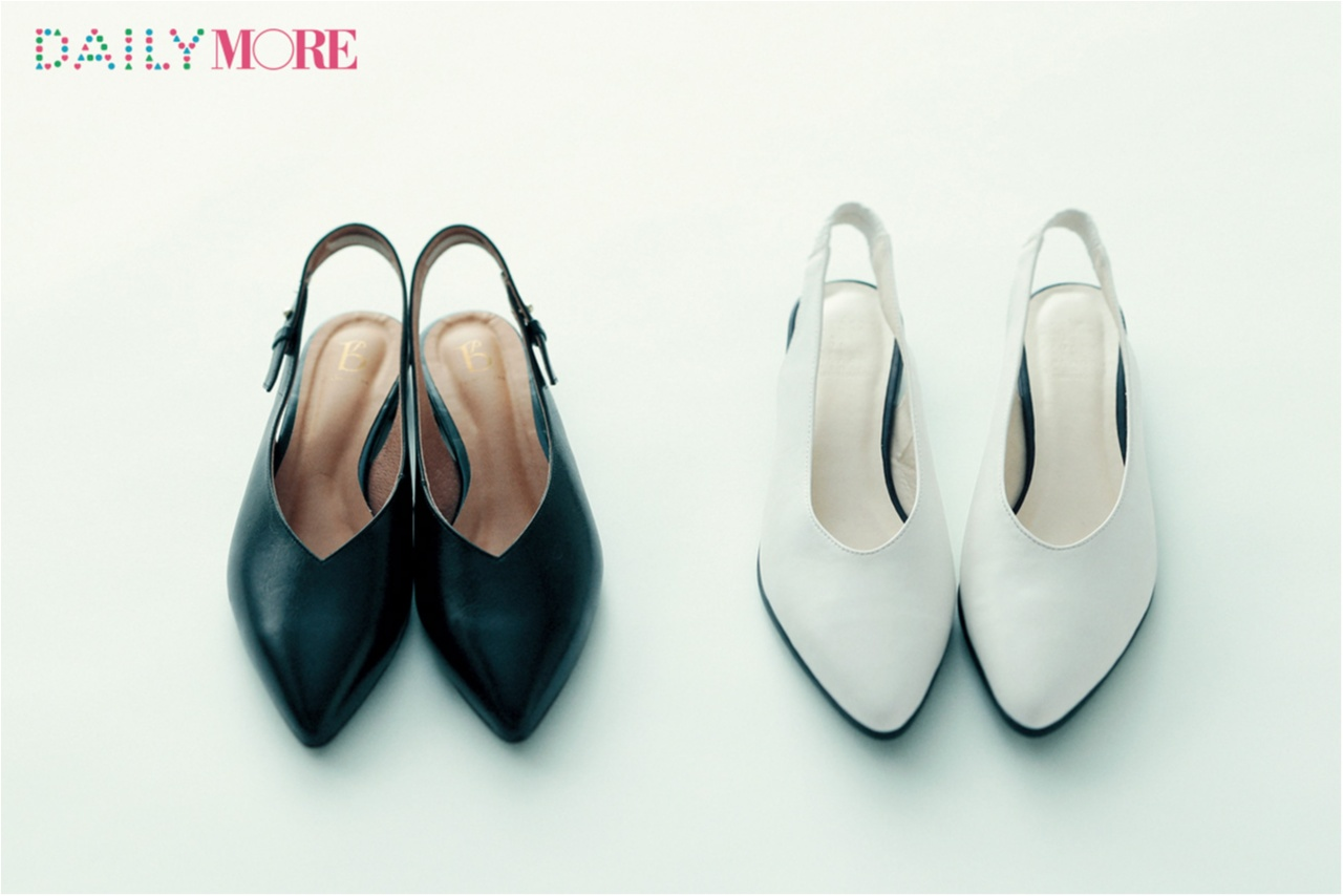新しい靴を買おう♪ 今から夏まで活躍するデザインは「はき口深めのバックストラップ」で決まり!_1