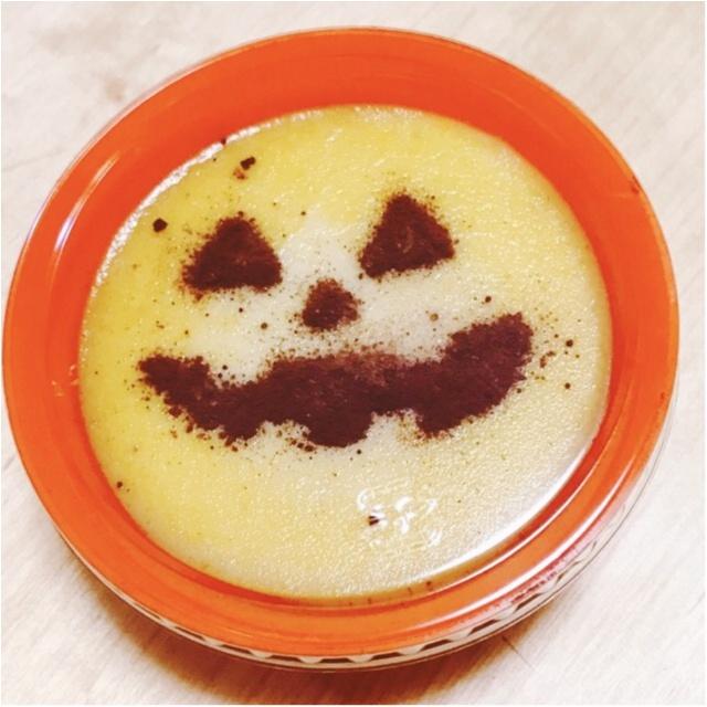 【秋のコンビニスイーツ】ハロウィン気分を盛り上げる♪ローソンのかぼちゃプリンが激うま♡_2